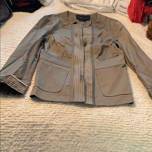 BCBG taupe blazer